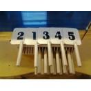 Касса судейская с номерными табличками СП