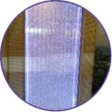 Воздушно-пузырьковые колонны, панели и сенсорные уголки