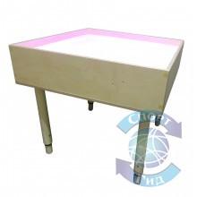 """Стол для рисования песком """"Мультиколор"""" (2 кг песка в комплекте!) СП"""
