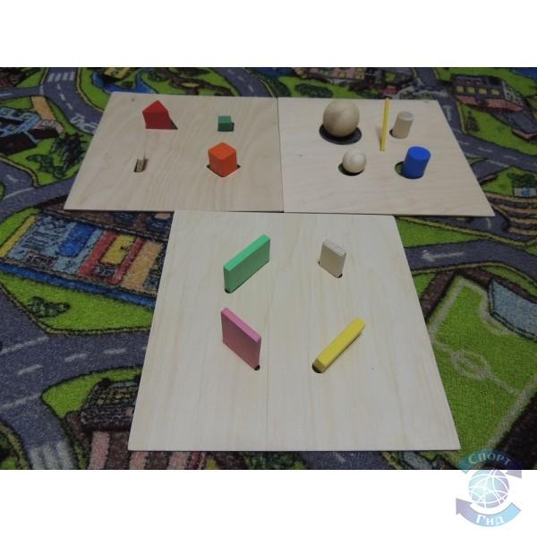 Кубик тактильный СП