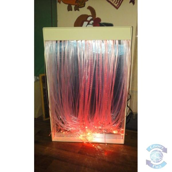 """Панно зеркальное настенное с фибероптическим волокном настенное """"Таинственный свет"""" СП"""