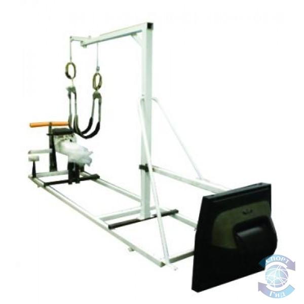 Тренажер для пловцов, имитирующий состояние пловца в воде