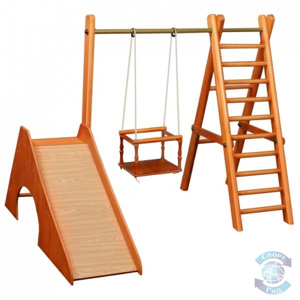 Комплекс детский спортивный (горка, лестница, качели)