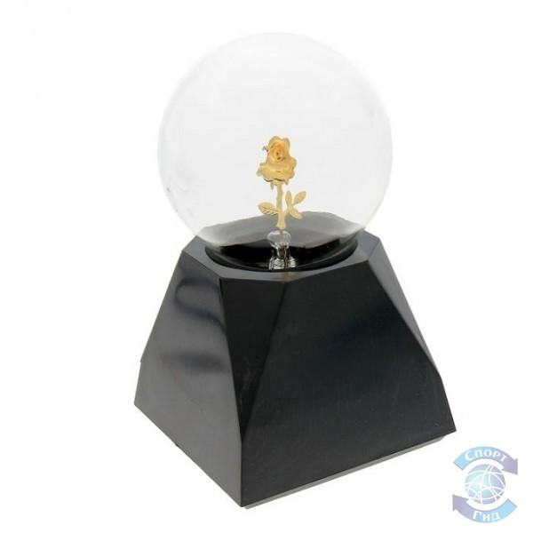 Светильник настольный (лампа, шар, волокно)