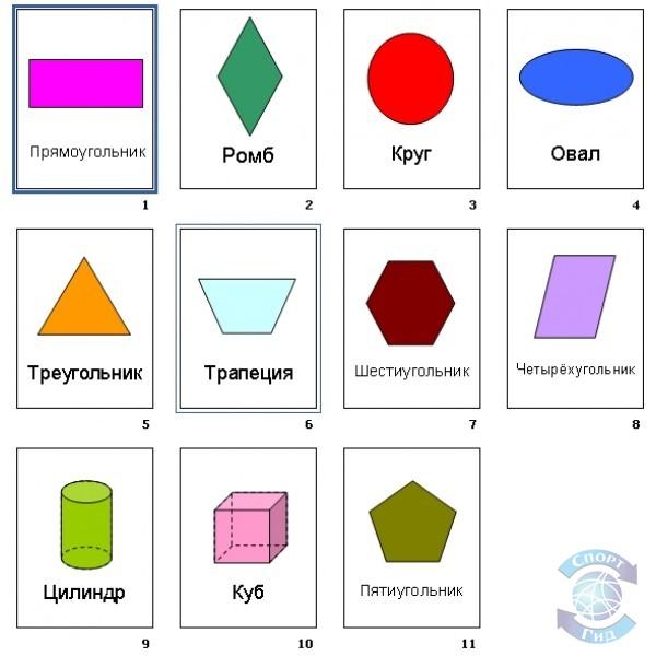 Карточки дидактические / логопедические