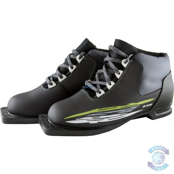 """Ботинки лыжные """"Atemi"""", кожа"""