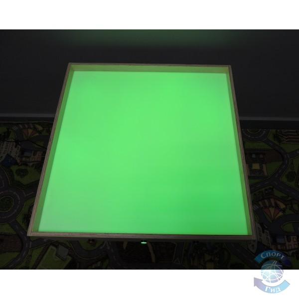 """Стол для рисования песком """"3 кнопки весь цветовой спектр"""" (2 кг песка в комплекте!) СП"""