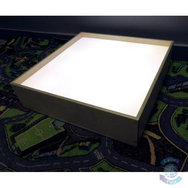 """Стол-модуль для рисования песком """"Одноцветный"""" (2 кг песка в комплекте!) СП"""
