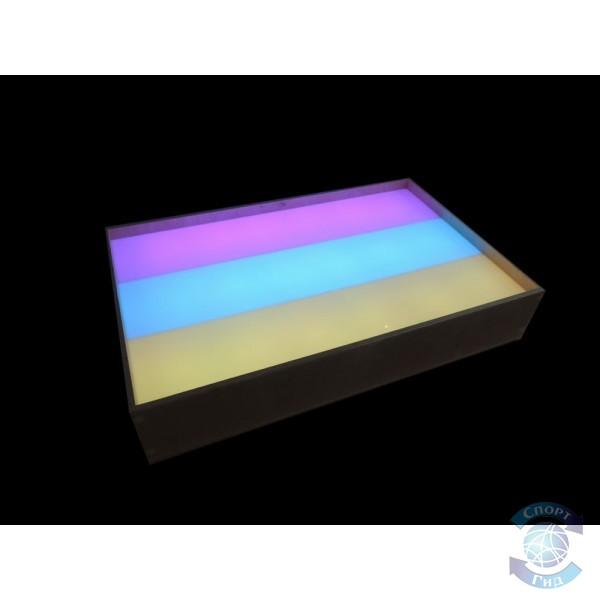 """Стол-модуль для рисования песком """"Радуга"""" (2 кг песка в комплекте!) СП"""